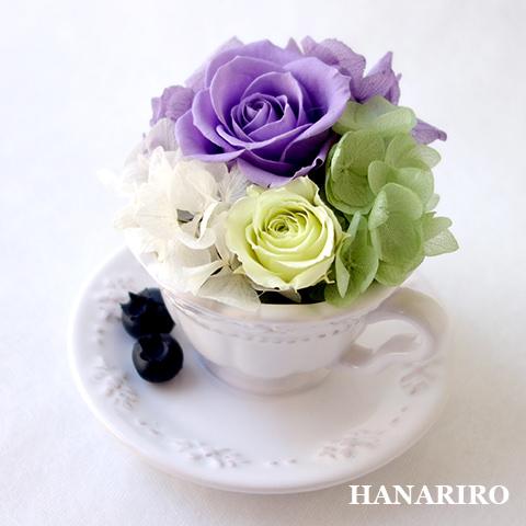 アレンジ「ベリーカフェ(紫)」