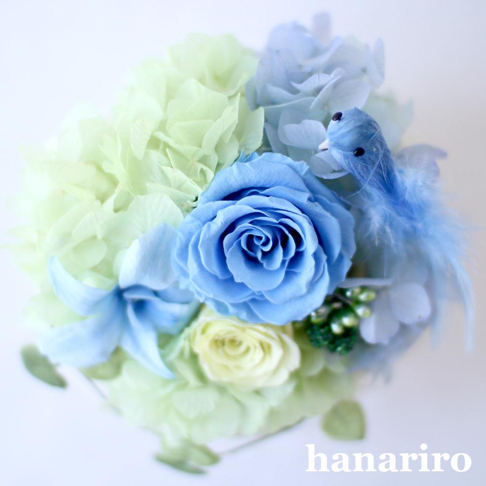 アレンジ「しあわせの青い鳥(ブルーS)」