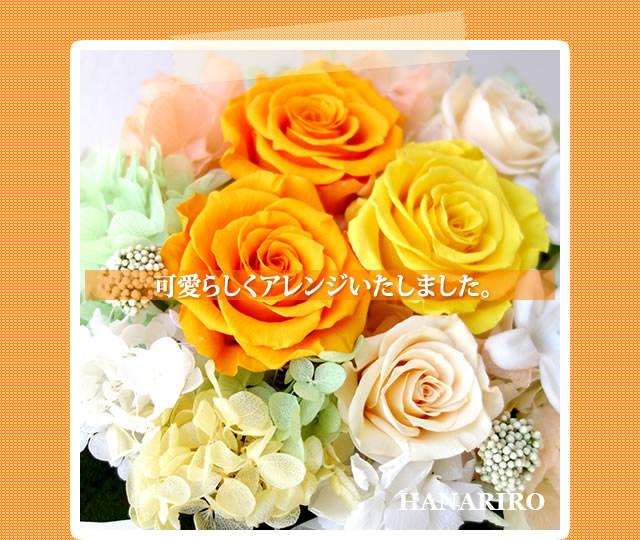 アレンジ「日和(ひより)」/プリザーブドフラワーギフト