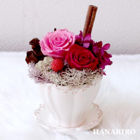 アレンジ「プリカフェ(ピンク)」