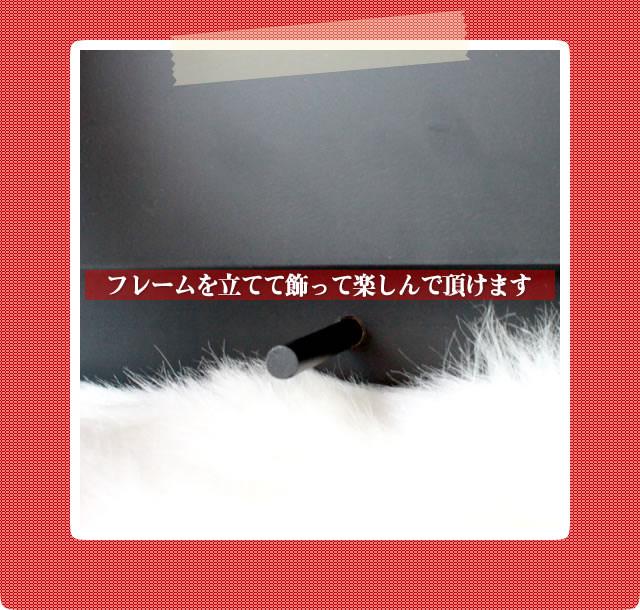 アレンジ「薔薇フレーム」/プリザーブドフラワーギフト