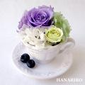 ベリーカフェ(紫)/プリザーブドフラワー