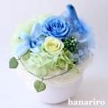 しあわせの青い鳥(ブルーS)/プリザーブドフラワー